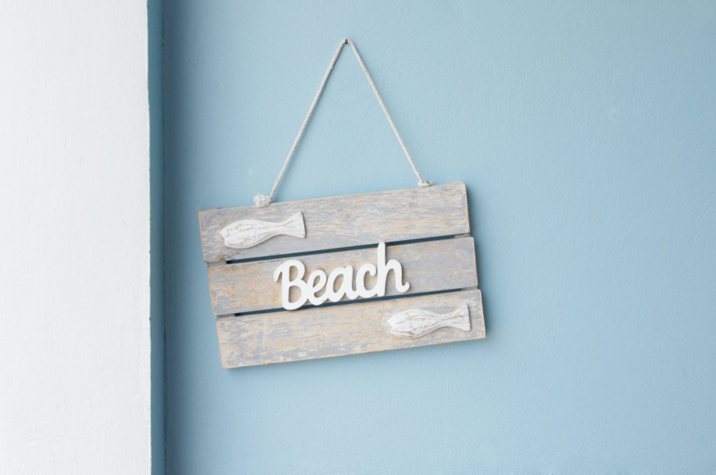 wooden name sign craft for kids