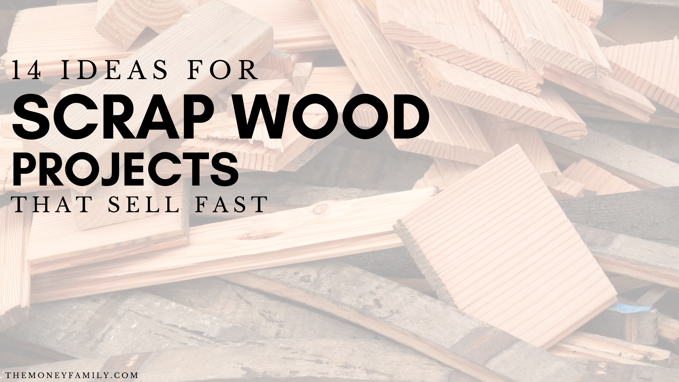 Scrap Wood Projects that Sell