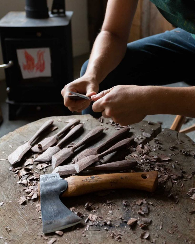 Anne of All Trades Wood Carving Class