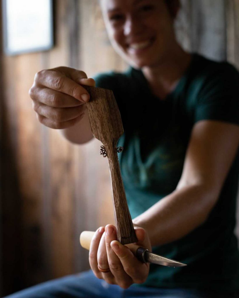 Learn Wood Carving with Anne of All Trades