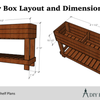 How to Build a Planter Box with Legs (Plans Available!)