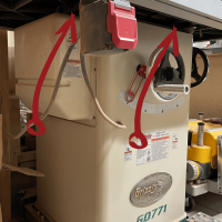 Upgrading Your Table Saw Dust Collection